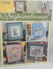 Leisure Arts Simply Inspirational Cross Stitch Pattern Religious