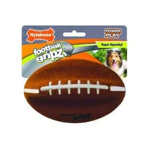 Nylabone Power Play GRIPZ FOOTBALL Dog Toy Medium