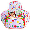Baby Kids Ball Pool Portable Indoor Play Game Toy Tent Ocean Ball Pool Children