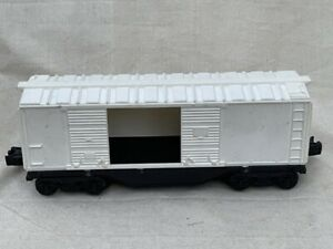 Lionel White Open Door Box Car O Scale Vintage!!