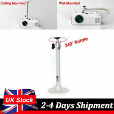 Mini Ceiling Wall Mount Universal For LCD DLP Projector Metal Bracket Holder UK
