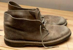 Clarks Desert Boots Suede Men's 8.5