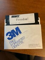 "Mecc apple ii iie iic Freedom freedom! Simulator game A315z 5.25"" 5.25 Disk"