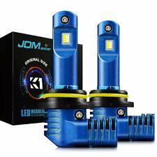 JDM ASTAR 2x K1 High Power 9012 LED Headlight Bulbs High Low Beam Fog White Lamp