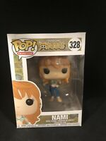 Animation One Piece Nami Small Crease On Window Damaged Box Funko Pop Vinyl