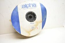 Alpha Wire ZIP-41-7/8 Clear PVC Zipper Tubing Approx. 30ft.