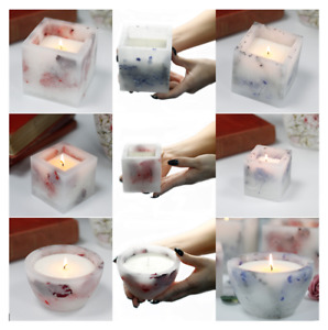 Luxurious Enchanted Glowing Candle Natural Soy Wax Organic Fragrance Mothers Day