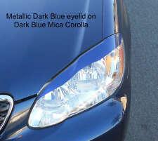 03-09 Corolla headlight eyelids eyebrows - Pre cut, colored vinyl overlays MB
