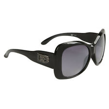 DE Designer Eyewear Women's Fashion Sunglasses FREE Micro Fiber Bag! New! BLACK