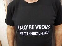 PARALETIC T Shirt Novelty Funny Gift Present Black or Green paramedic joke