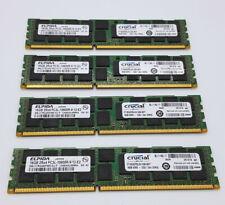 64GB 4x16GB Crucial DDR3 ECC REG Server RAM PC3L-10600R Memory CT16G3ERSLD41339
