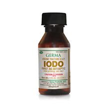 Iodine Tincture Yodo 1oz First Aid Antiseptic Minor Cuts, Scrapes, Burns IODO