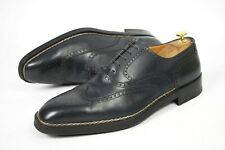 A. TESTONI Made in Italy TOP Norvegese UK11.5G / US12 / EU45.5 wing brogue