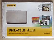 BUND GANZSACHE/PLUSBRIEF 27.09.2018 Deutsche Post Philatelie aktuell 4. Quartal