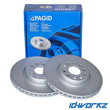 PAGID Front Brake Discs for Honda Civic 2.0 Type R EP3 (01-06)