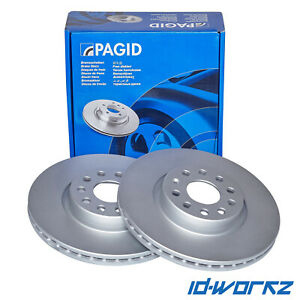 PAGID Rear Brake Discs for Honda Civic 2.0 Type R EP3 (01-06)