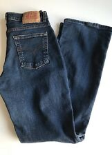 Levi Strauss & Co 584 87 Stretch Blue Denim Jeans W32 L32 Zip Fastening