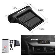 LCD Display Solar Charging Car Alarm Tyre Pressure Monitoring Security System