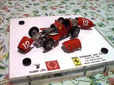 Ferrari 500 F2 - G.P. Italia 1952 A. Ascari - base Tameo WCT052 1/43 - NO Bosica