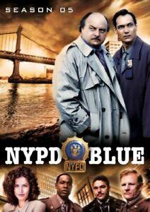 NYPD BLUE: SEASON 5 (6PC) NEW DVD