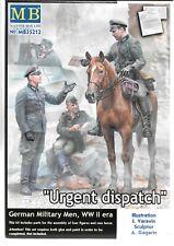 Master Box WWII German Military Men 'URGENT DISPATCH' Figures in 1/35 212 ST B2
