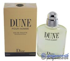 Dune By Christian Dior 3.3/3.4oz. Edt Spray For Men New In Box