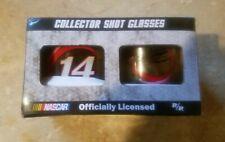 Nascar Tony Stewart #14 Collector Shot Glasses Set of Two Nascar