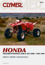CLYMER Repair Manual, Honda ATC250R 1985-1986, TRX250R/FOURTRAX 250R 1985-1989