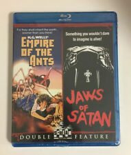 SHIPS TODAY! Empire Of Ants / Jaws Blu Ray Scream Factory OOP