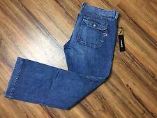$198 Diesel Jeans Nadar Regular Boot Cut Denim Blue Jeans Pants Size 34X30 ITALY