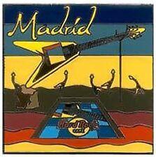 Hard Rock Cafe  MADRID Tee-Shirt Logo Series Pin