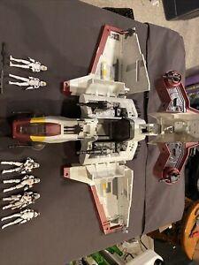 Star Wars Clone Wars Republic Attack Shuttle  Bakara Concept Trooper Pilot