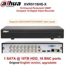 Dahua XVR5116HS-X 16CH DVR HDCVI/AHD/TVI/CVBS/IP H.265+ For CCTV System Camera