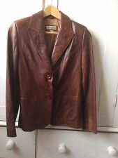 Woman's Real Leather Jacket Size 8-10