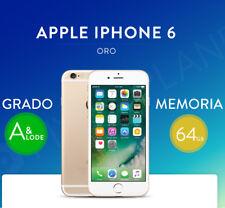 APPLE IPHONE 6 64 GB GOLD ORO 12 MESI GARANZIA NUOVO SPEDIZIONE DA ITALIA 24ORE