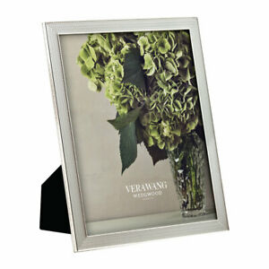 """Vera Wang for Wedgwood 'With Love' Silver Photo Frame for 8x10"""" Photo"""