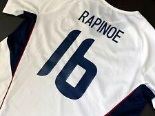 United States USWNT MEGAN RAPINOE National Team Debut Soccer Jersey USA RARE