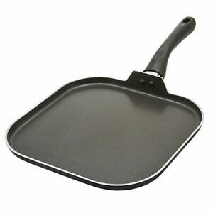 Ecolution Artistry Non-Stick Square Griddle Easy To Clean Comfortable Handle ...