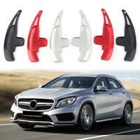 2PCS Aluminum Steering Wheel Shift Paddle Extender Shifter For Mercedes Benz AMG