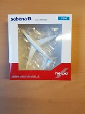 "Herpa 532655 - 1/500 Sabena Airbus A340-200 ""75th Anniversary"" - Neu"