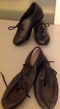 Girl's 12 Black tap shoes