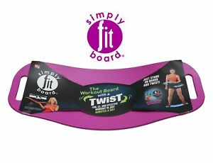 Magenta Simply Fit Board - The Workout Balance Board with a Twist