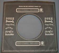 "1x 45 rpm ABC DUNHILL black company sleeve original record sleeves 7"""
