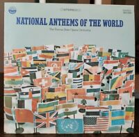NATIONAL ANTHEMS OF THE WORLD NM Vinyl The Vienna State Opera Orchestra