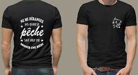 t-shirt personnalisé pêche cadeau idéal pêcheur pour l'été T170