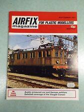 Airfix magazine for plastic modellers - september 1971