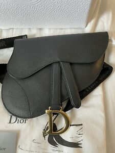 Authentic Dior Saddle Crossbody Belt Bag Retail