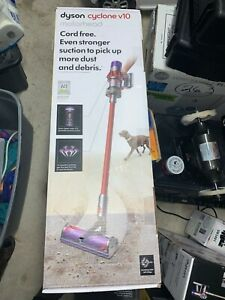 """Dyson V10 Cyclone Motorhead Red Cordless Stick Vacuum Cleaner """"New"""""""