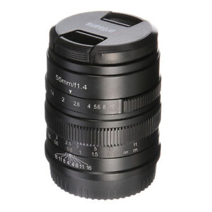 7artisans  Manual Focus 55mm F/1.4 Prime Camera  Lens For Fujifilm FX X-Mount