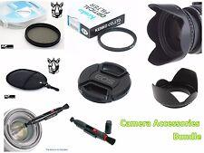 FK89u CPL UV Filter + Lens Hood + Cap + LensPen for CANON 1200D 1300D 18-55mm